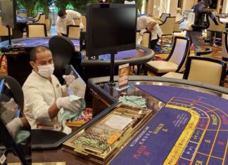 Covid-19 precautions in Macau casinos