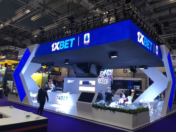 1xbet booth