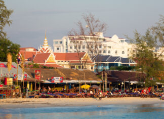 Sihanoukville, gets a face lift