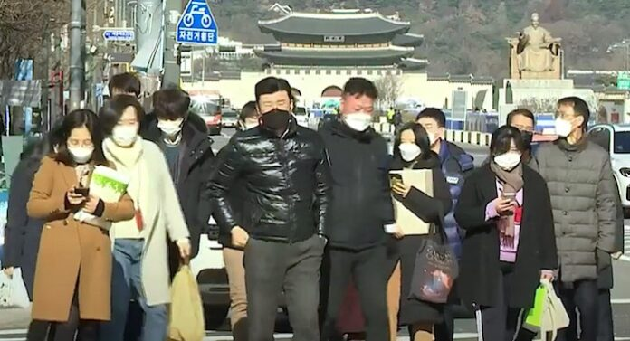 Covid resurgence in Northeast Asia
