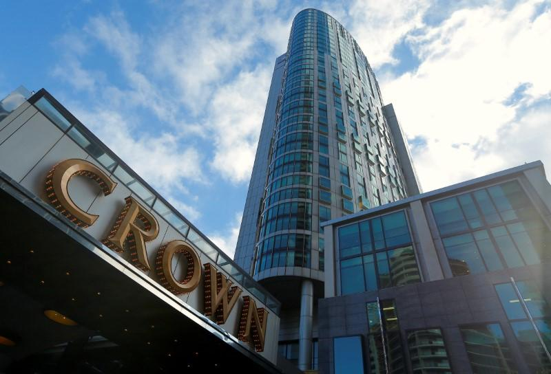 Blackstone makes A$8 billion bid for Crown Resorts