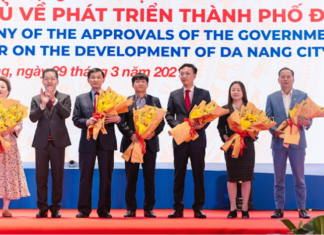 Danang approval ceremony