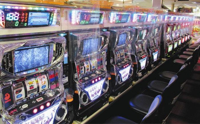 Partitioned Pachinko Machines