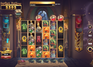 Scientific Games releases Perfect Potions Megaways
