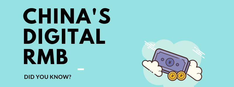 Digital RMB, China