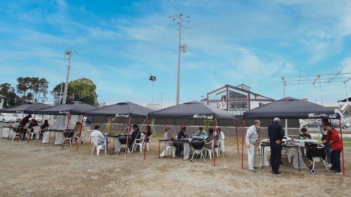 Pachinko, barbecue Oasis
