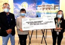PAGCOR, evacuation centre, donation