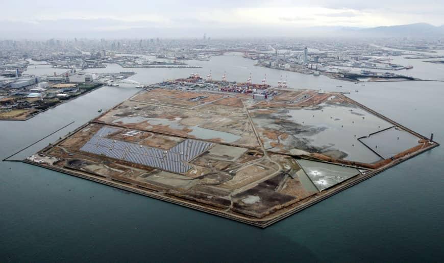 Yumeshima site